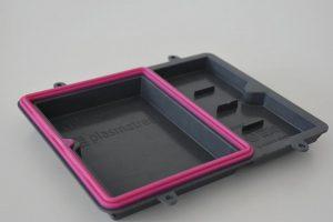 Sichere Haftung bisher inkompatibler Materialien sind mit dem Inmould-Plasmaverfahren möglich. (Foto: Plasmatreat)