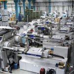 Halle 7, ausgestattet mit Maschinen der MacroPower- und SmartPower-Reihen von Wittmann Battenfeld. (Foto: Wittmann Battenfeld)