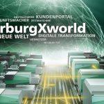 """Mit der """"'arburgXworld"""" erleben die Fachbesucher auf der K 2019 das gesamte Spektrum digitaler Produkte und Services, ein Teil ist das gleichnamige Kundenportal. (Foto: Arburg)"""