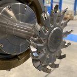 Durch sein innovatives Design erschließt der Messerkopf Pearlo Turbine style Effizienzpotenziale. (Foto: Maag)