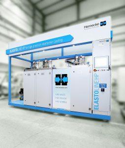 Die neue Elastoline HP bietet eine material- und spülverlustfreie Produktion. (Foto: Hennecke)