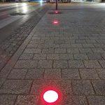 …Signalbeleuchtungen am Boden sind farblich synchron mit der Ampelschaltung. (Fotos: Manfred Lackner)