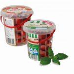 Pöppelmann: Eimer mit Gitterstruktur für Snack-Tomaten