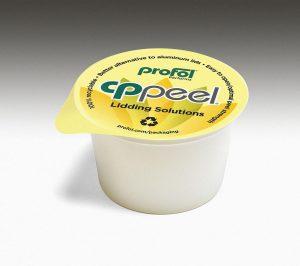 Die CPPeel-Platine auf PP-Basis ist nach den Vorgaben des neuen Verpackungsgesetzes zu 100 % recycelbar. (Foto: Profol)