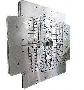 Magnetspannsysteme von Römheld Rivi sind hinsichtlich Größe, Geometrie, Spannkraft und Ausstattung frei konfigurierbar und in kurzer Zeit lieferbar. (Foto: Römheld)