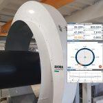 Sikora: Weltpremiere für Dimensionsmessung von Rohren bis 1.600 mm