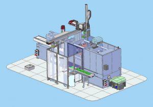 SmartPower 240 XL mit Automatisierung von Wittmann Battenfeld Deutschland Nürnberg zur Herstellung von Sensorfolien. (Abb.: Wittmann Battenfeld)