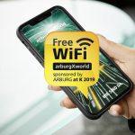 Arburg: Freies WiFi für alle Messebesucher
