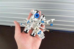 Klein und kompakt: Mit einem Klemmdurchmesser von 6 mm ist das Micro System deutlich kleiner und leichter als das bisher kleinste System mit 10 mm Klemmdurchmesser. (Foto: ASS)