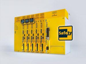 Bei der parametrierbaren Verzögerungszeit handelt es sich um ein individuell je nach Sicherheitsfunktion frei programmierbares Zeitfenster, das zwischen die Sicherheitsfunktionen und die STO-Funktion geschalten wird. Jetzt neu bei allen Safety-Modulen SAF 002/003 der Umrichterreihe b maXX 5000. (Foto: Baumüller)