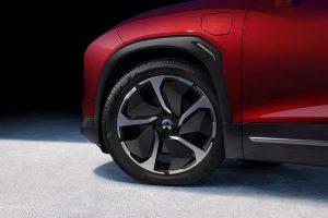 Für die neu gestalteten Räder der vollelektrischen SUVs ES8 und ES6 verwendet das chinesische Elektrofahrzeug-Startup NIO thermoplastische Verbundwerkstoffe der Marke Maezio. (Foto: NIO)
