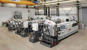 GPUs bestehen aus MRS-Extruder, Rotations-Filtriersystem und Online-Viskosimeter. (Foto: Gneuß)