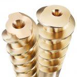 Hasco: Spiralkerne aus Messing für eine effiziente konturnahe Temperierung