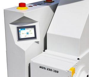 Beistellmühle aus der Serie 150 in der MDSi Ausführung mit digitaler Steuerung. (Foto: Hellweg)