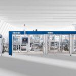 Das neue Thermoformsystem IC-RDKL 80 zur Produktion dekorierter IML-T-Deckel. (Foto: Illig)
