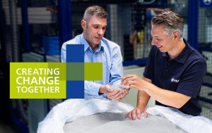 Das Messemotto von Kautex lautet in diesem Jahr Creating Change Together. (Foto: Kautex)