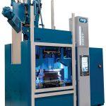 Die Rundläufermaschine CMX1 bietet die Möglichkeit, vier Werkzeuge gleichzeitig auf einer Maschine zu betreiben. (Foto: Rep International)