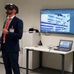 AZO setzt auf die VR-Technologie, die viele Vorteile bei der Anlagenplanung bietet. (Foto: AZO)