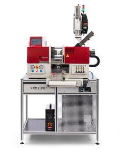 Mikrospitzgießmaschine babyplast 6/10 PT LSR mit integrierter LSR-Prozessgestaltung. (Foto: Christmann)