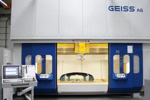 Der große Bearbeitungsraum der Tandemanlage ist auch für große LKW-Bauteile konzipiert. (Foto: Coherent)