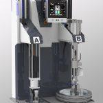 Elmet zeigt den neu entwickelten Pumpenstrang mit servoelektrischem Antrieb. (Foto: Elmet)