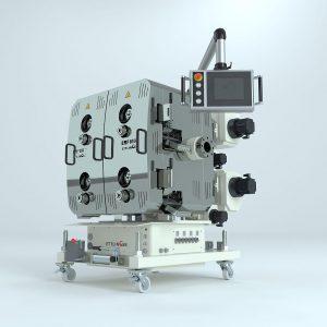 Erstmals zu sehen ist der größte Filter der ERF-Baureihe für Durchsätze von bis zu 10.000 kg/h. (Foto: Ettlinger)