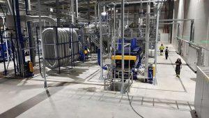 Komplette Heißwaschanlagen für PET-Folien stellt das Unternehmen kundenspezifisch aus seinen Einzelkomponenten zusammen. (Foto: Herbold)