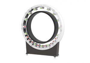 Für Rohrdurchmesser von 630 bis zu 3.500 mm eignet sich das Inline-Messsystem Warp XXL, das über eine neue Radarsensorik verfügt. (Foto: Inoex)