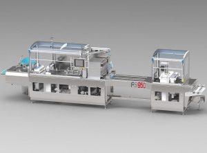 Die Thermoformmaschinen sind speziell für Reinräume entwickelt worden. (Foto: Mecapack)