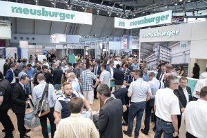 Der Messestand von Meusburger ist immer gut besucht. (Foto: Meusburger)