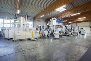 Dank LSP Technologie von NGR lassen sich r-PET Folien-Flakes direkt zu lebensmitteltauglicher Folie extrudieren. (Foto: NGR)