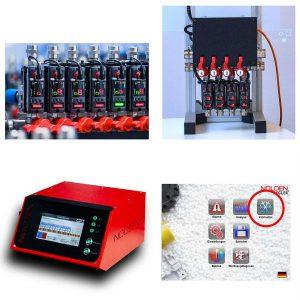 Nolden präsentiert eine neue Kühlmittelüberwachung im Heißkanalregler. (Foto: Nolden)