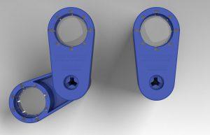 Die mit Z.Warp move gefertigte Lupe vereint Spritzgusstechnologie mit hochtransparentem Silikon und einer integrierten Mechanik. (Foto: Zahoransky)