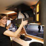 Eine Kombination aus Hanffasern und einem PUR-Schaumsystem bringt Schranktüren und Küchenfronten zur Geltung. (Foto: K-AKTUELL)