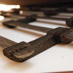…und zwischen den Stäben der Lattenroste der Betten für Druckpunktentlastung. (Fotos: K-AKTUELL)