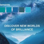 """Die """"Ethereal Elements""""-Palette erzählt von beruhigenden, sanften und heiteren Blautönen. (Abb.: BASF)"""