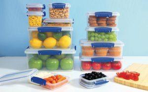 Wiederverwendbare, stapelbare und lebensmittelechte Kunststoff-Vorratsbehälter sind das Kernprodukt von Sistema Plastics. (Foto: Sistema)
