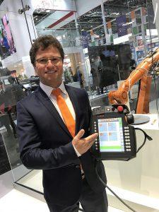 """Prozessentwickler Steffen Jacobi: """"Mit Icon.Prog fühlt sich der Maschinenbediener gleich zu Hause."""""""