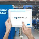 MyConnect bietet Verarbeitern Echtzeit-Visibilität zur Verbesserung der Maschinenverfügbarkeit, Produktivität und Rückverfolgbarkeit. (Foto: Sumitomo (SHI) Demag)