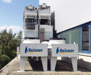 Die Kälte-Containerlösung mit den darum gruppierten Lüftereinheiten erschließt wertvollen Raum, der sonst nicht nutzbar wäre. (Foto: Reisner)