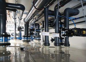 Reisner hat das gesamte Rohrleitungsnetz sauber und korrosionsfrei ausgeführt. (Foto: Reisner)
