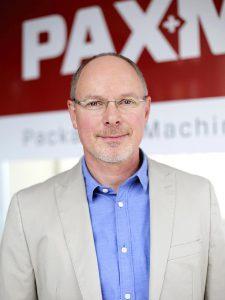 """Roland A. Schierle, CEO und Inhaber von Paxmatic: """"Gemeinsam mit Telsonic haben wir eine für unsere Schlauchbeutelmaschinen maßgeschneiderte Ultraschalleinheit entwickelt."""" (Foto: Paxmatic)"""