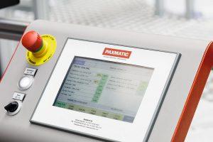 Die Schweißparameter werden am Bedienterminal der Maschine eingestellt. (Foto: Telsonic)
