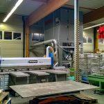 Die äußerst geringen Schallemissionswerte und vor allem die passgenaue Anfertigung der AL-KO Profi Jet an die Platzverhältnisse ermöglichen ein Aufstellen im Produktionsbereich. (Foto: AL-KO Absaugtechnik)