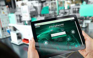Das Kundenportal arburgXworld ist international in 18 Sprachen und mit neuen Apps und Funktionen verfügbar. (Foto: Arburg)