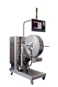 Das neue Inspektionssystem zur Oberflächenkontrolle von Wellrohren und Spiralrohren bietet die Inline-Qualitätskontrolle von flexiblen Rohrsystemen. (Foto: Pixargus)