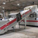 Eine der beiden Starlinger recoSTAR dynamic 105 C-VAC bei Calex. (Foto: Starlinger)