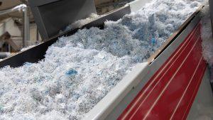 Recycling von Post-Consumer-Kunststoffabfällen bei Calex. (Foto: Starlinger)