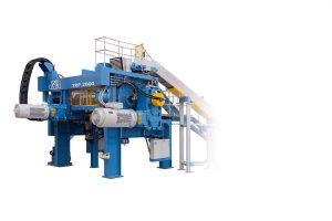 Das TRP Reworker System dient der wirtschaftliche Aufarbeitung von Rückläufermaterialien in der Reifenproduktion. (Foto: Uth)