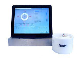 Der GaugePro ermöglicht die berührungslose Messung von Rohrproben. (Foto: Zumbach)